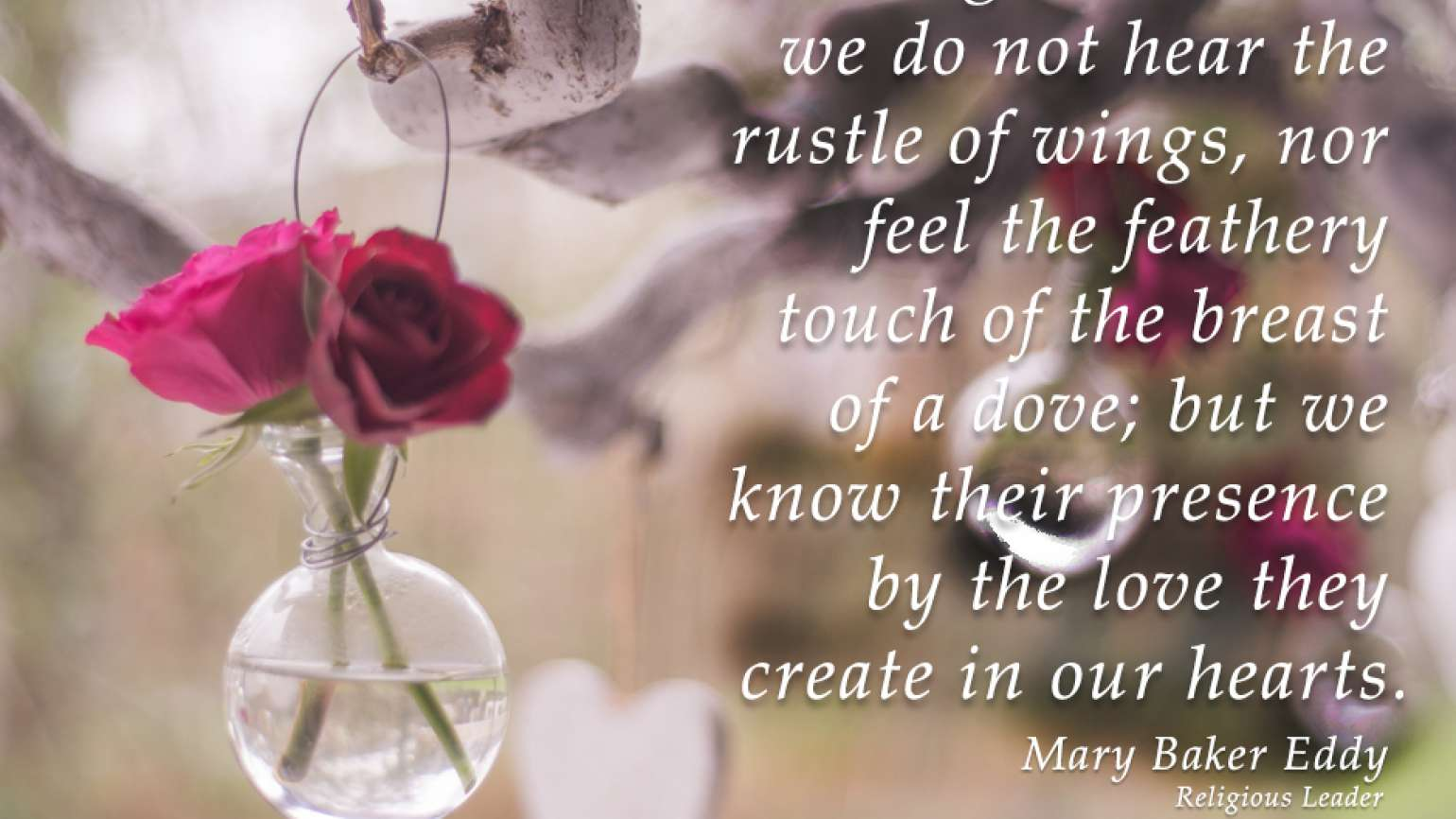 Angel Quote - Mary Baker Eddy