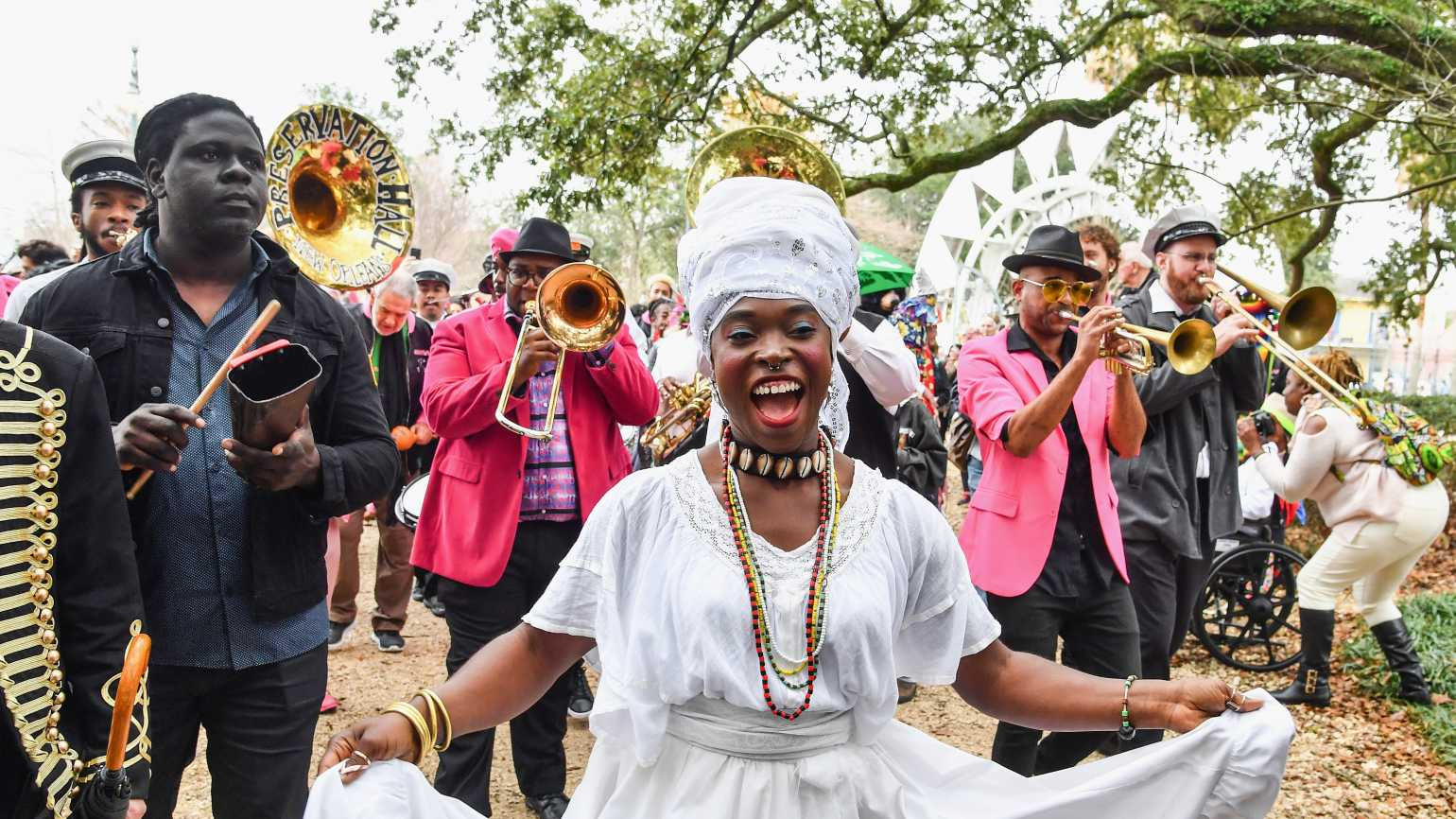 Congo Square, New Orleans, Getty Images