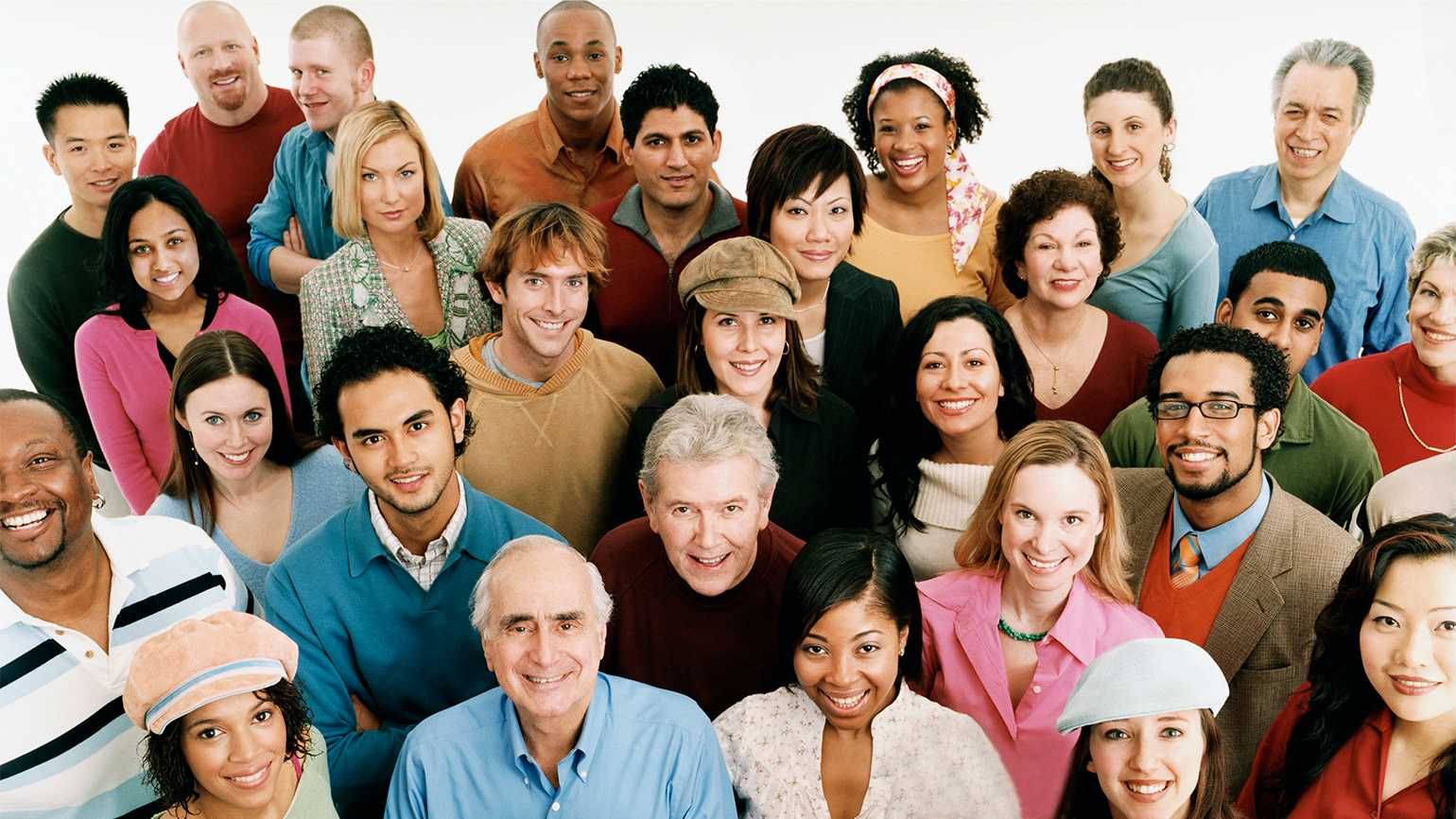 A multicultural group of Guideposts readers