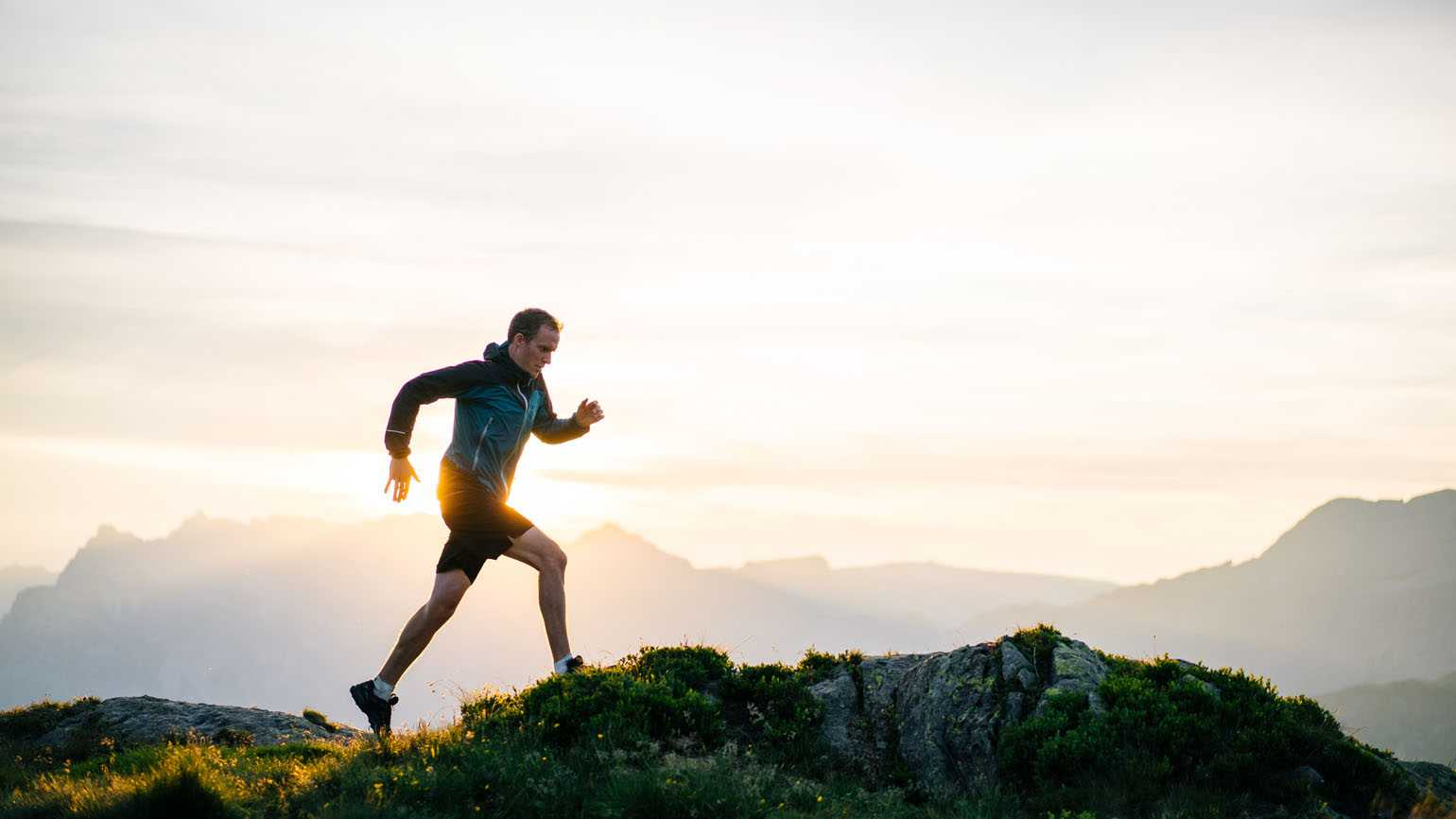 A man going for a morning run; Getty Images