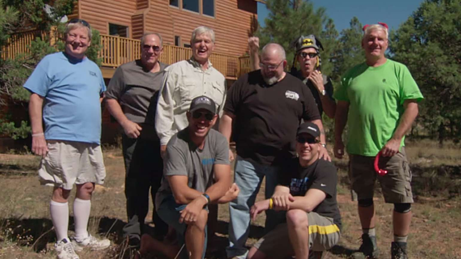 """Seven cancer survivors learned the power of saying """"yes"""" while rock climbing together for the first time in Arizona."""