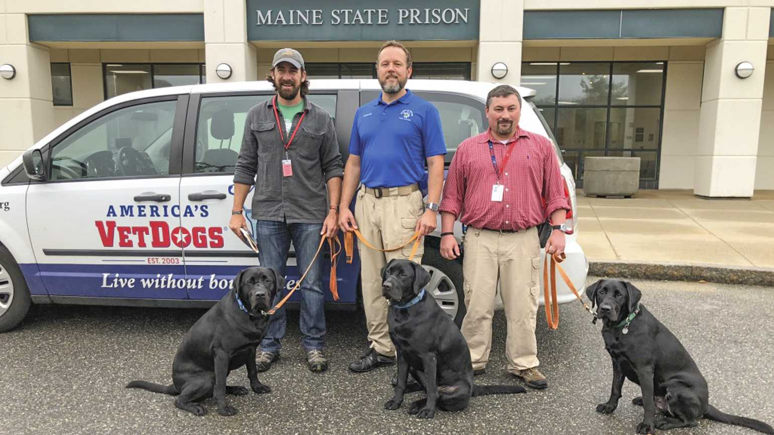 Craig (left) tells the whole story of this Maine State Prison program