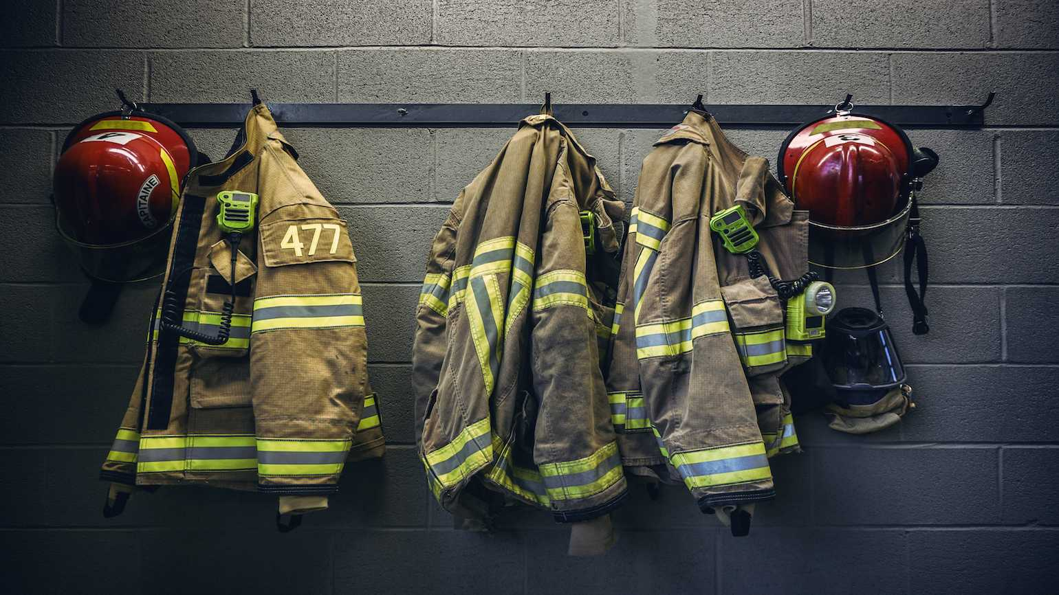 firefighter uniforms, Getty images