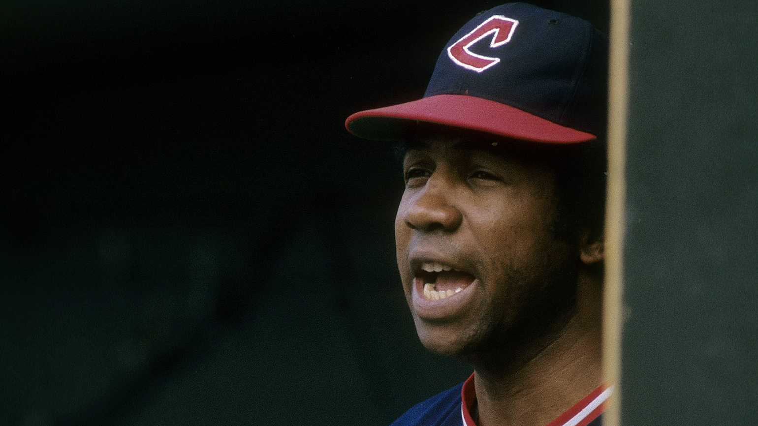 Frank Robinson, manager of the 1975 Cleveland Indians