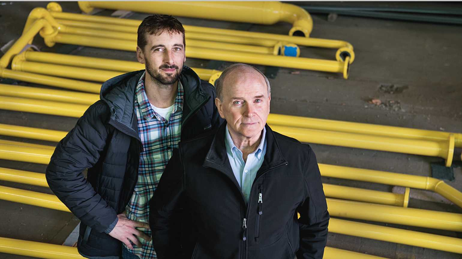 George started Envirosafe with his son, Mike
