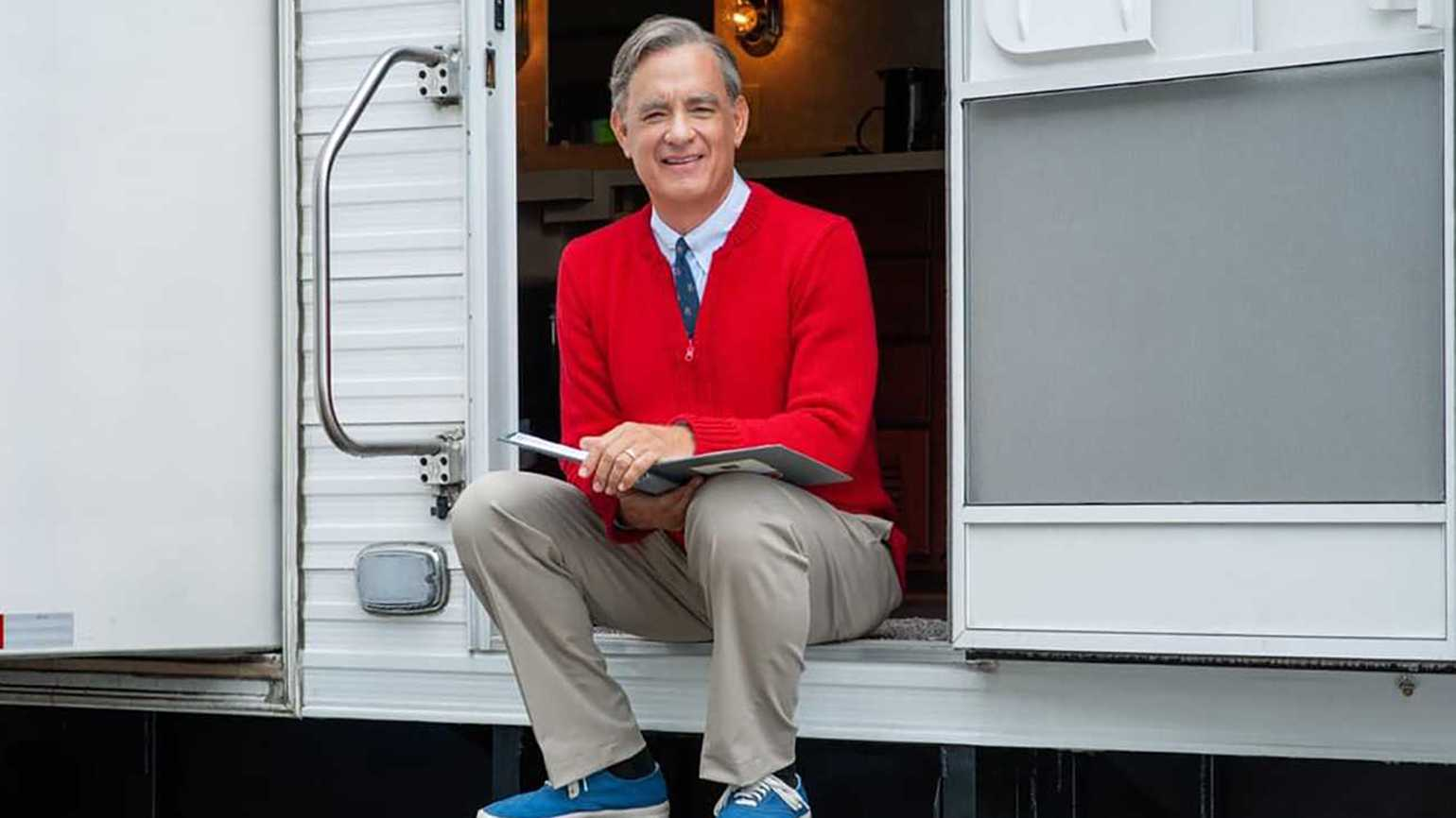 Tom Hanks as Mr. Rogers in 'A Beautiful Day in the Neighborhood'
