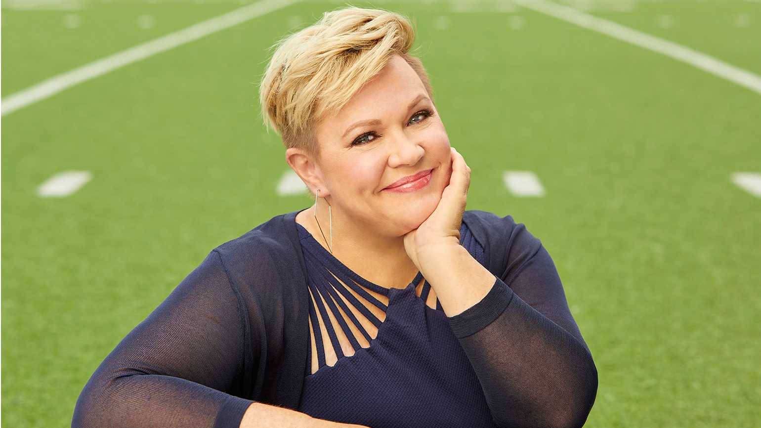 ESPN broadcaster Holly Rowe