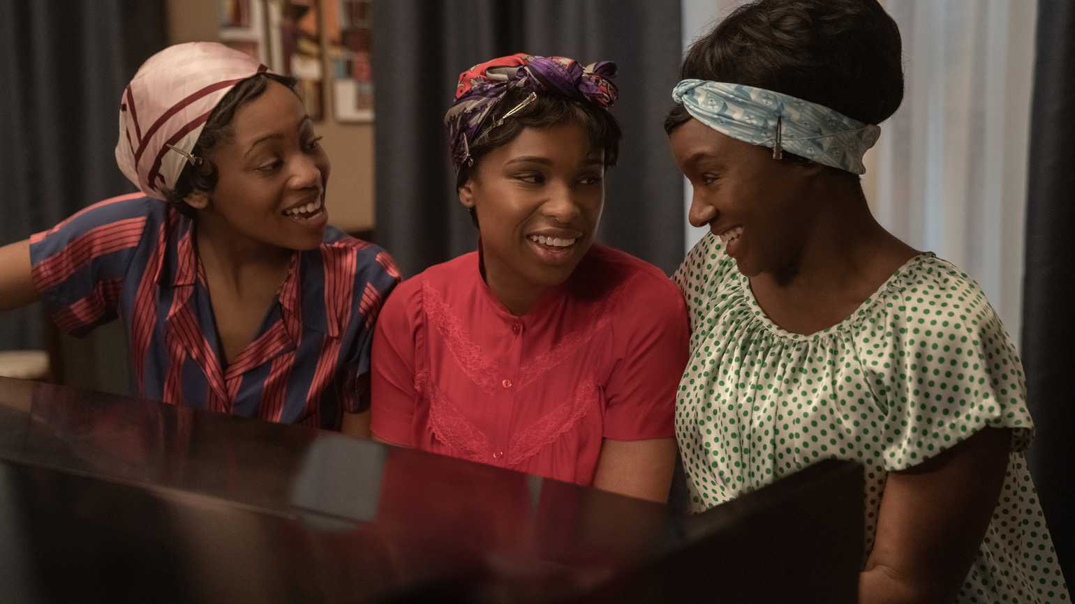 Jennifer Hudson as Aretha Franklin in Respect (Photo by Gillian Smith Chang)