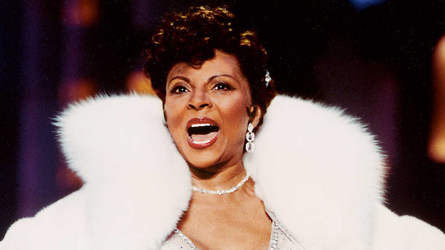 Actress and singer Leslie Uggams