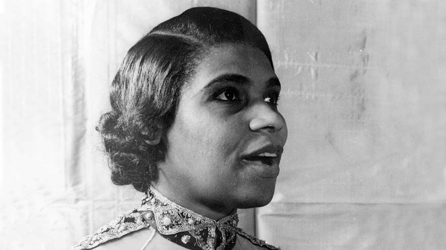Presidential Medal of Freedom honoree Marian Anderson