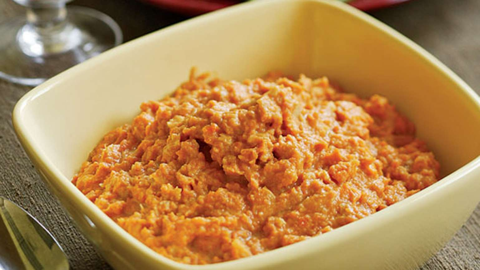 Guideposts: Molasses Mashed Sweet Potatoes