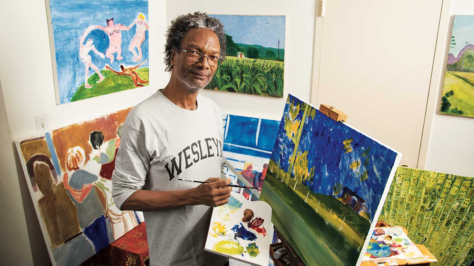 For Ron, each blank canvas is a chance to see and to show.