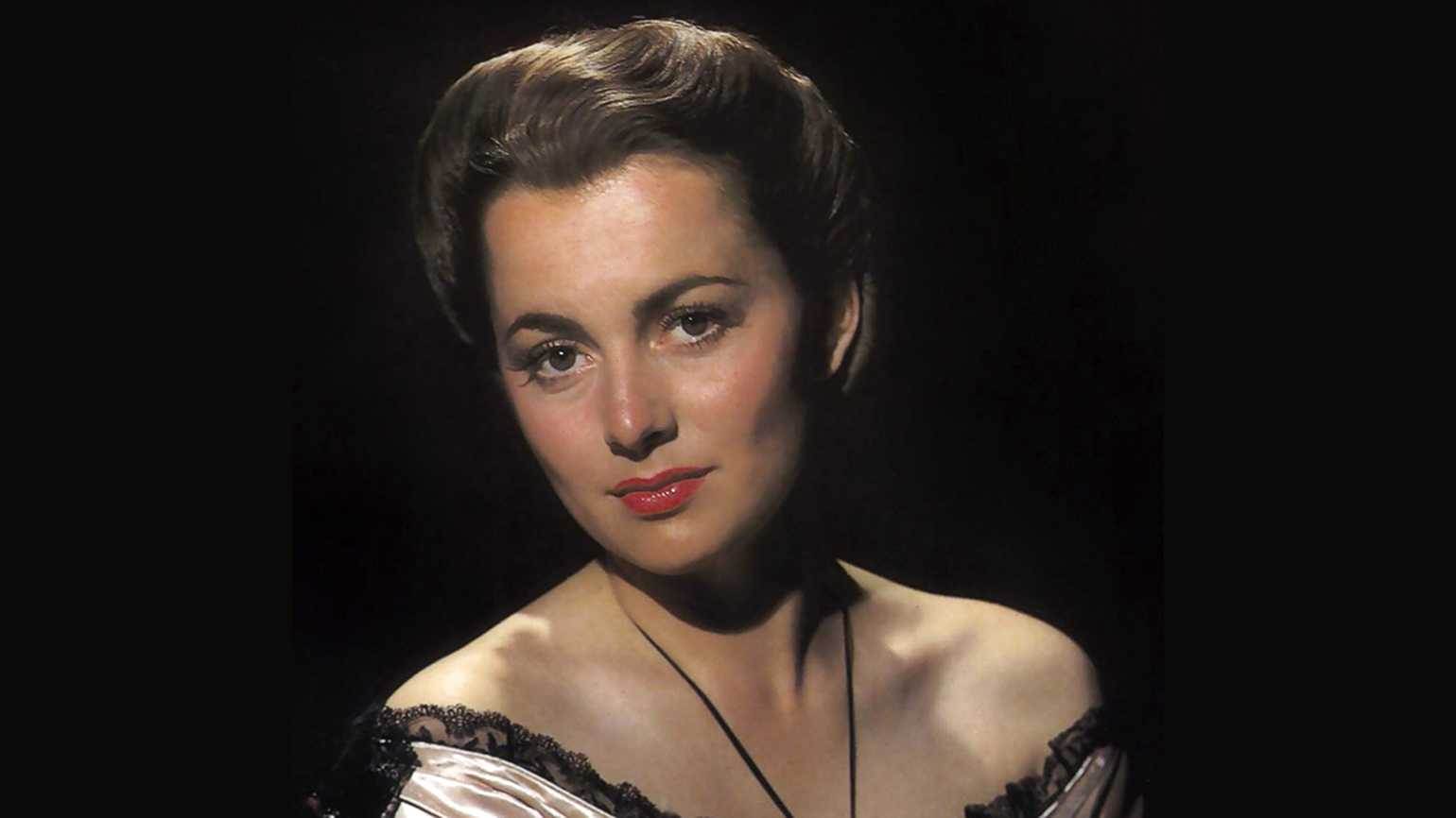 Actress Olivia de Havilland