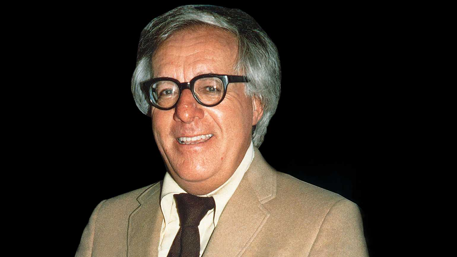 Legendary science fiction author Ray Bradbury