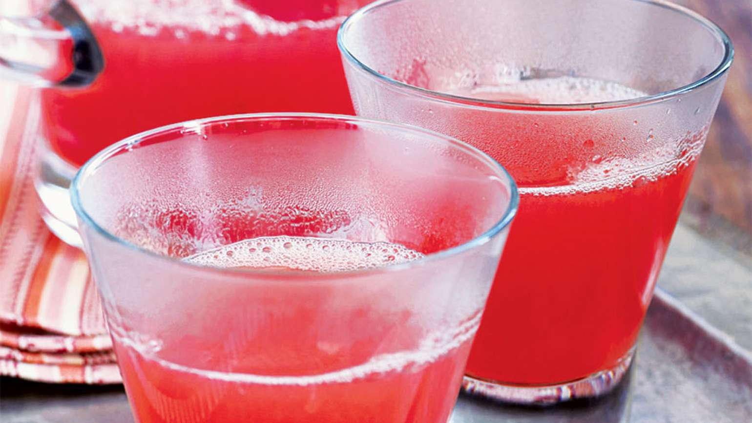 The Heiss's pink punch
