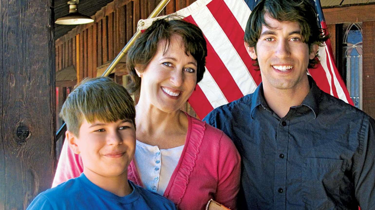 Guideposts: Marci Seither and her sons when they were younger
