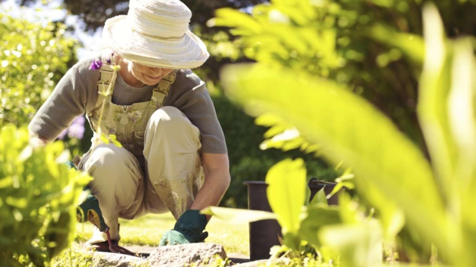 A woman pulls weeds and discovers a tip to apply to her prayer life.
