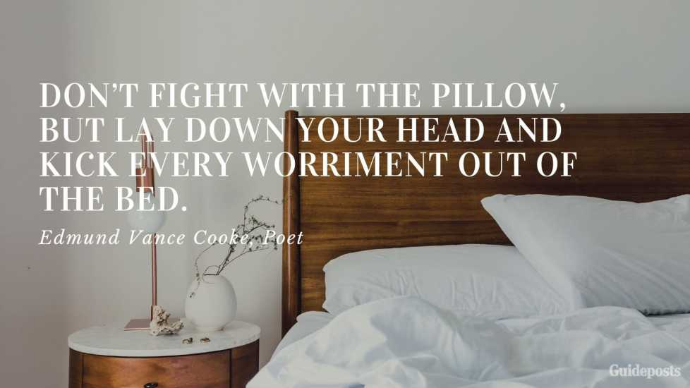 Edmund Vance Cooke Positive Quote for Bedtime Better Living Positive Living Positive Thinking