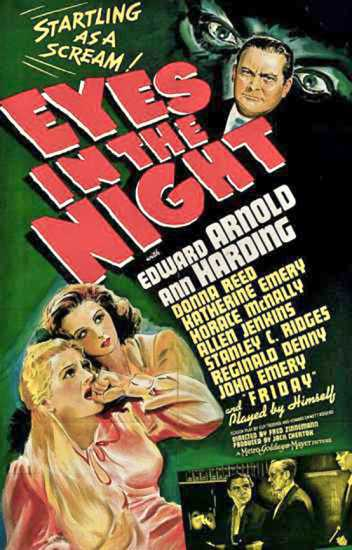 Eyes in the Night poster