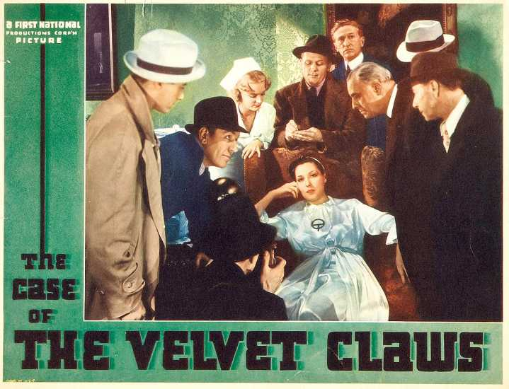 The Case of the Velvet Claws poster