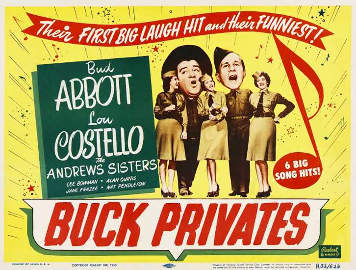 Buck Privates poster