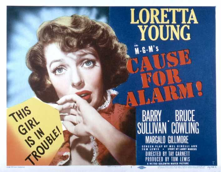 Cause for Alarm poster
