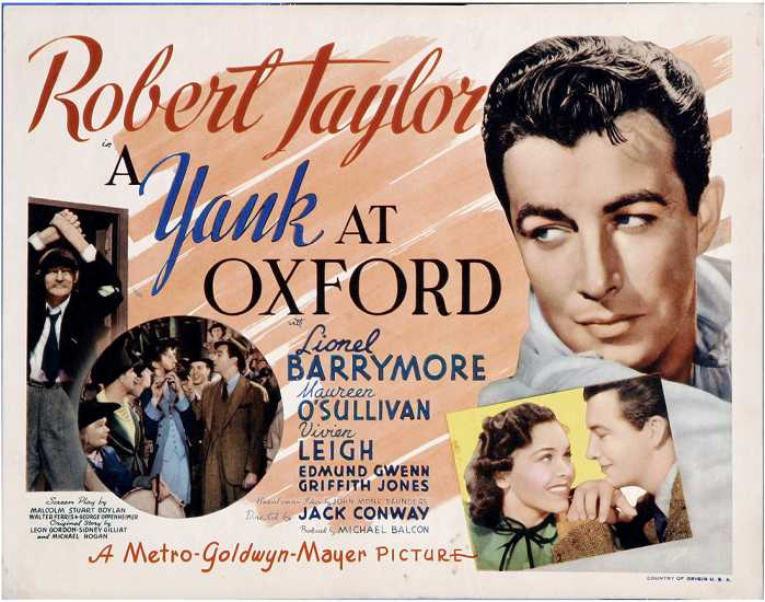 A Yank at Oxford poster