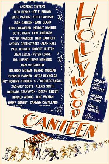 Hollywood Canteen poster