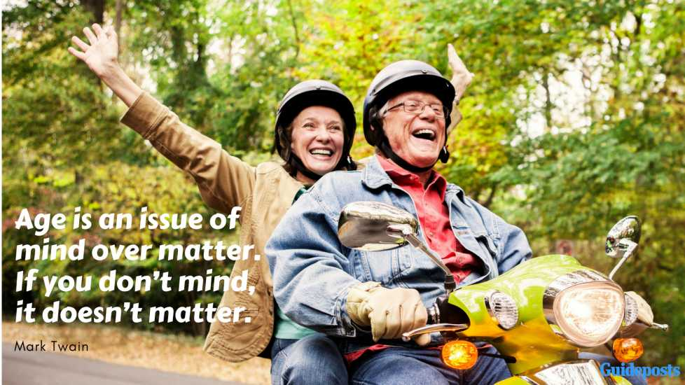 """Inspirational Quotes for Retirement: """"Age is an issue of mind over matter. If you don't mind, it doesn't matter."""" – Mark Twain Better Living Life Advice"""