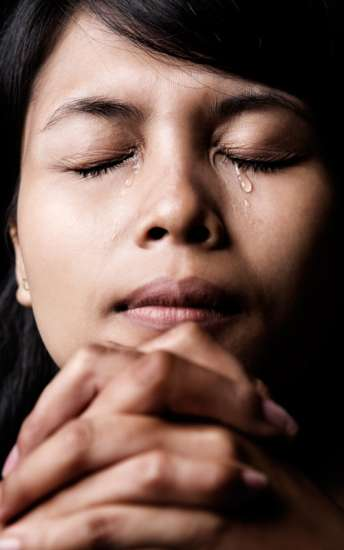 """2 Kings 20:5 """"I have heard your prayer and seen your tears; I will heal you."""""""
