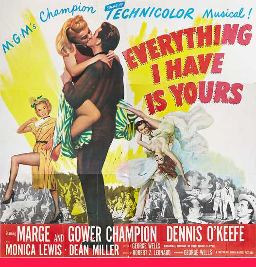 Everything I Have Is Yours poster