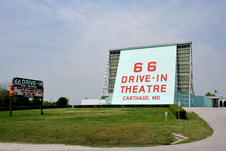 Get your kicks at the 66 Drive-in!