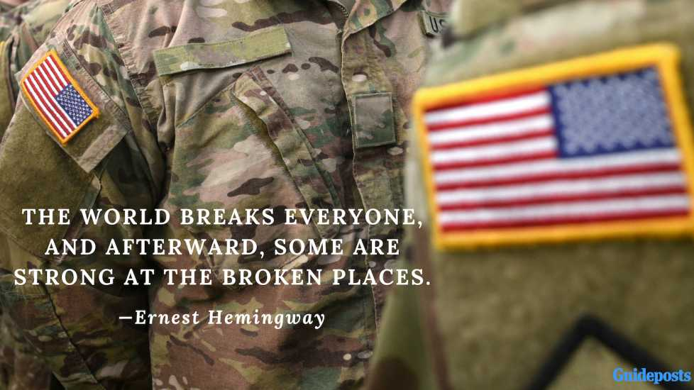 The world breaks everyone, and afterward, some are strong at the broken places.—Ernest Hemingway