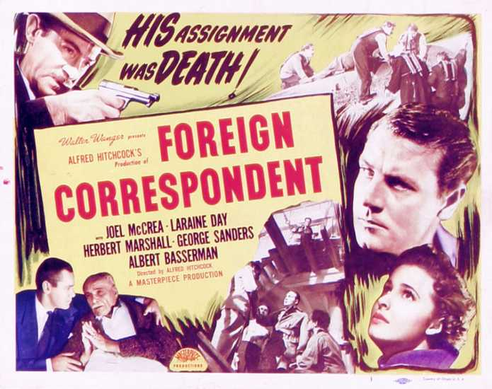 Foreign Correspondence poster