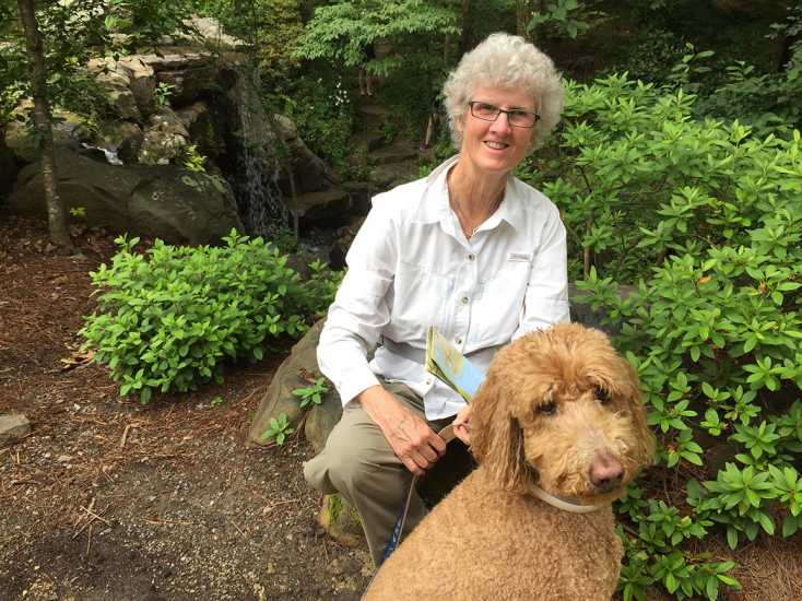 In 2017, Jo-Anne and her Labradoodle Abi traveled cross-country, visiting a number of national parks