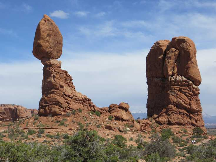 Utah's Arches National Park boasts more than 2,000 stone arches and hundreds of other red-rock formations.
