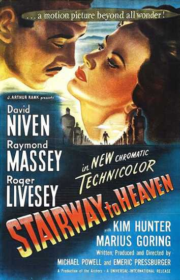 US poster for A Matter of Life and Death (1947)