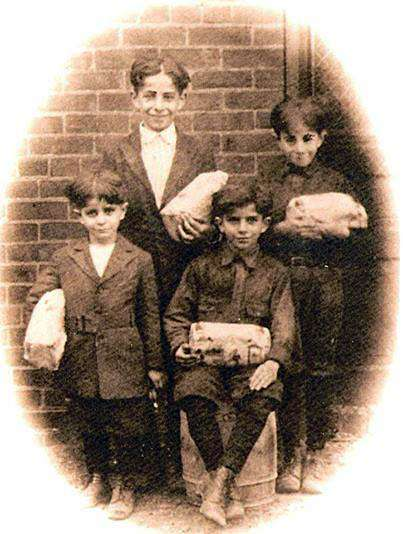 Carol Tanet's father and his siblings