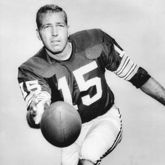 Pro Football Hall of Fame inductee Bart Starr