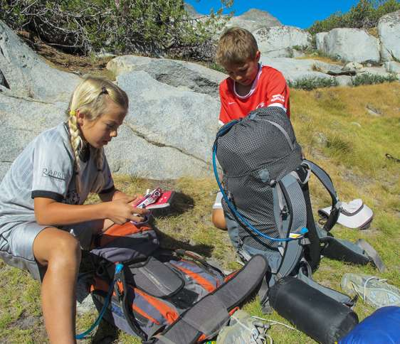 Guideposts: Rebekah and Cade get their hiking gear together