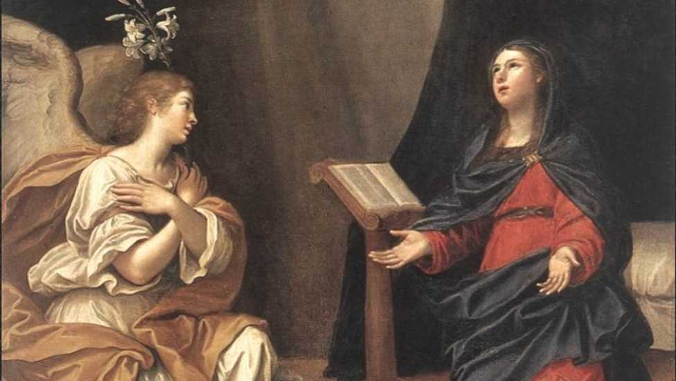 The Annunciation of Mary - ALBANI, Francesco