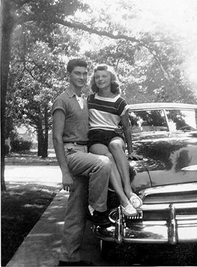 Arlene and Richard, Circa 1954