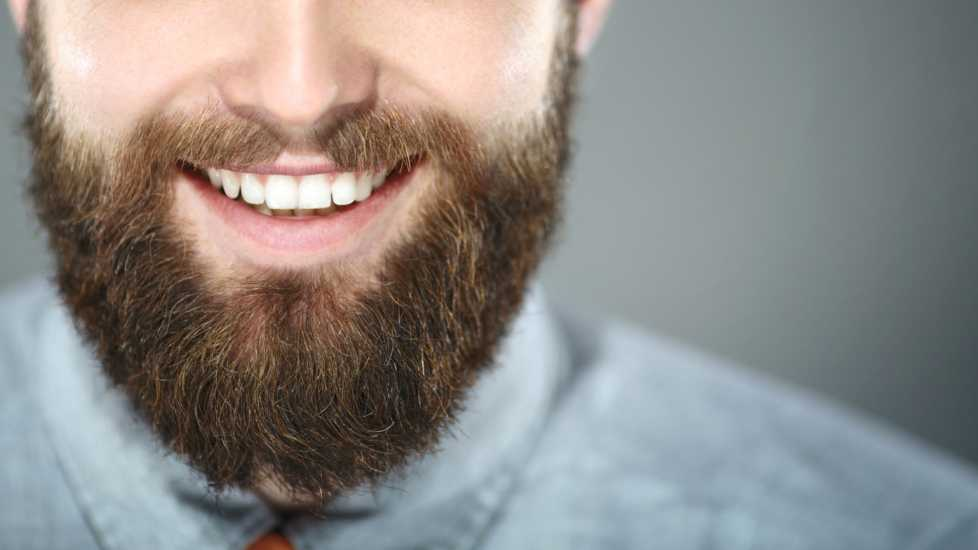 Bearded smiling man (Getty Images)