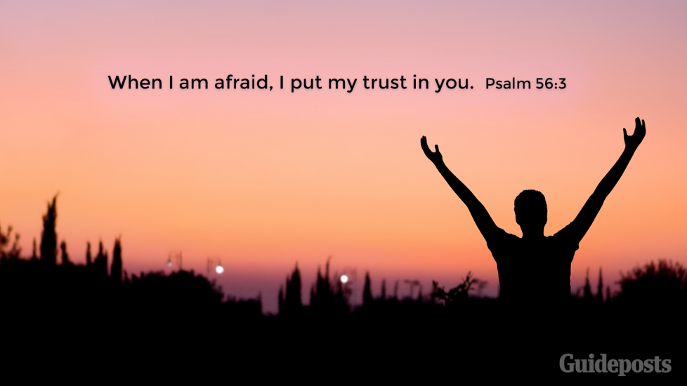 """7 Bible Verses for a Good Night's Sleep""""When I am afraid, I put my trust in you.""""  Psalm 56:3 Faith and Prayer Bible Resources"""
