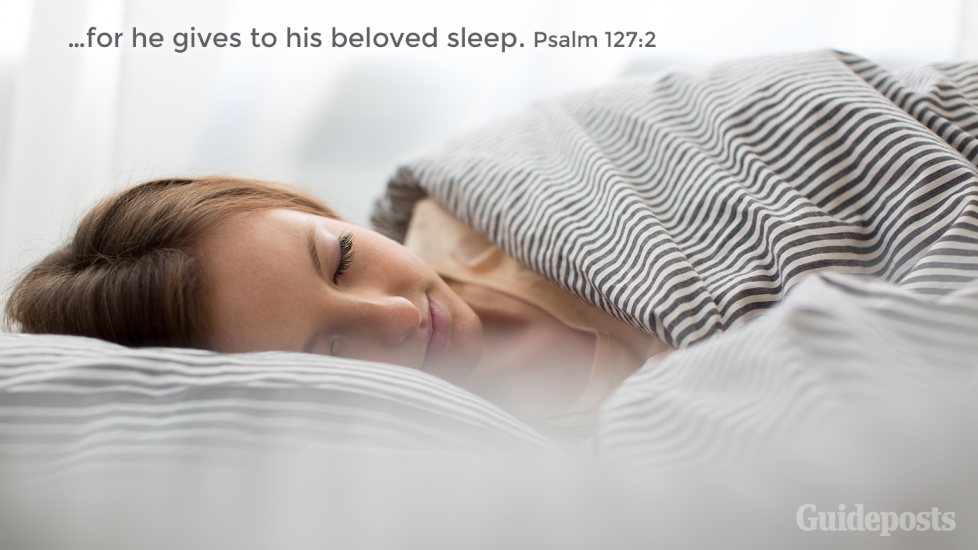 """7 Bible Verses for a Good Night's Sleep """"For he gives to his beloved sleep."""" Psalm 127:2 Faith and Prayer Bible Resources"""