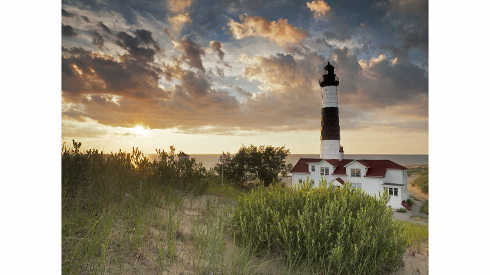 Big Sable Point Lighthouse in Ludington, Michigan