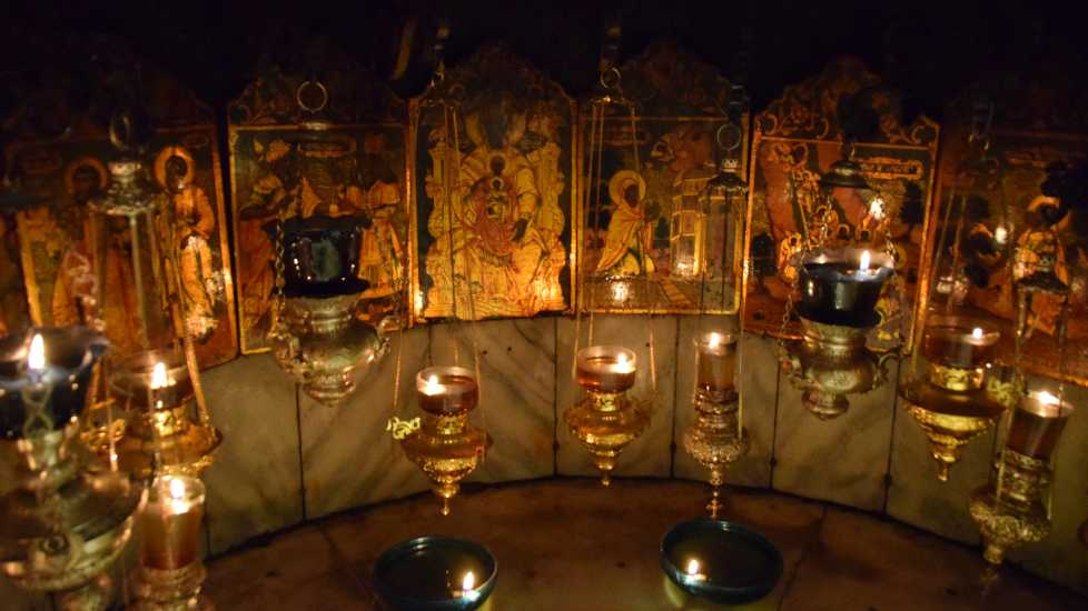 The Birth spot of Jesus, Church of the Nativity, Photo Credit: Brooke Obie