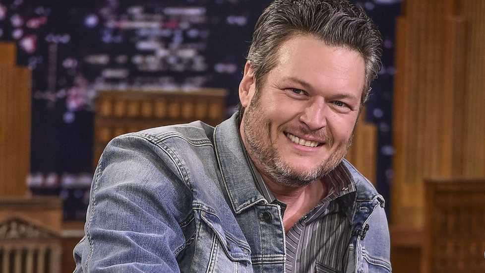 """Blake Shelton Visits """"The Tonight Show Starring Jimmy Fallon"""" at Rockefeller Center on March 19, 2018 in New York City. Credit: Theo Wargo/Getty Images"""