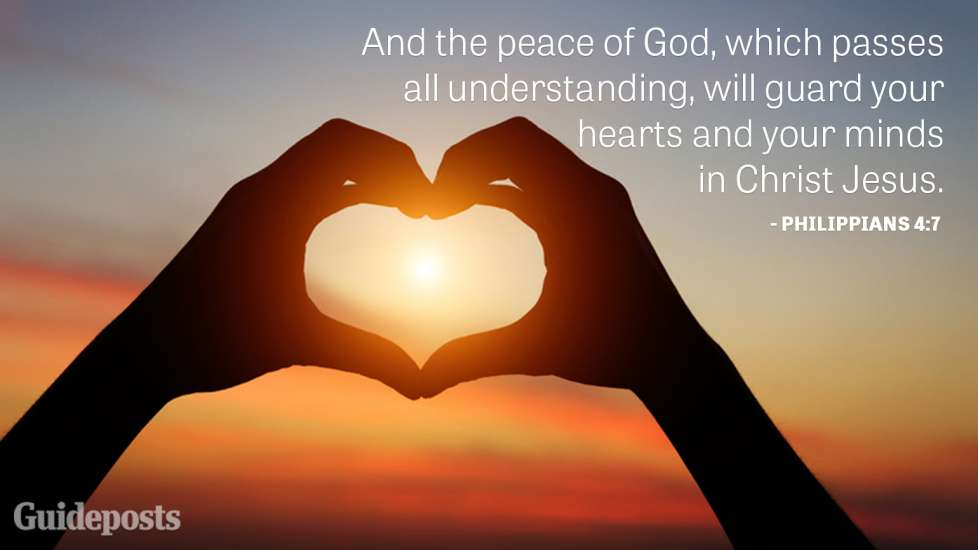 And the peace of God, which passes all understanding, will guard your hearts and your minds in Christ Jesus.