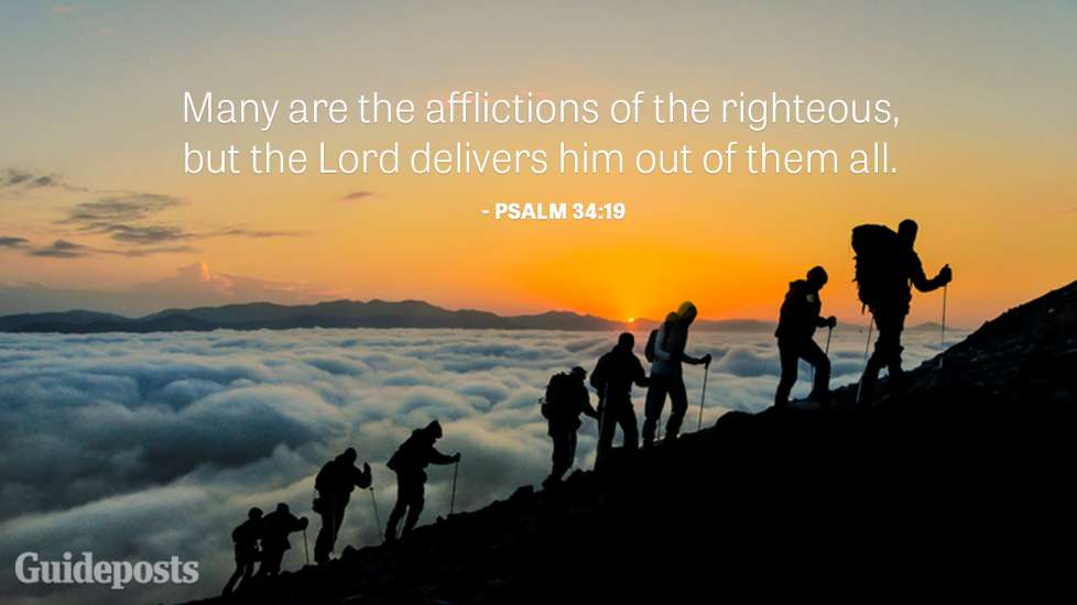 Many are the afflictions of the righteous, but the Lord delivers him out of them all.